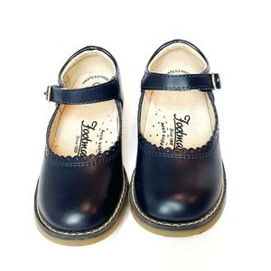 "Footmates ""Allie"" Mary Janes, Navy, Toddler 9.5"